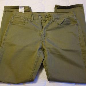 Levi's 505 Classic Straight Jeans 34x32